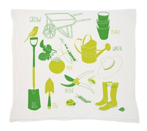 Garden Tea Towel