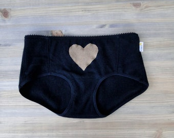 Cashmere hipsters panties, wool underwear, custom lingerie