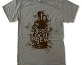 Men's Local BREW t shirt s m l xl xxl (+ Color Options)