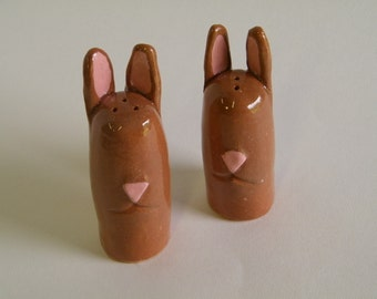 Brown Bunny Shakers