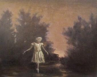 Landscape oil painting print - Expandness