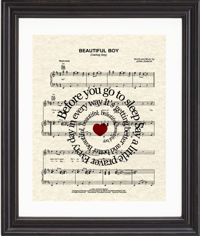 John lennon song beautiful boy lyrics