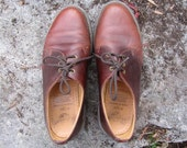 Men's Vintage Doc Martens Size UK 7 US 7.5 Oxford Shoes Made in England brown Ombre 1461