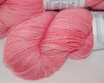 Studio June Yarn Cash-Paca Fingering - Cashmere, Baby Alpaca, Silk - Color: Pink