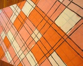 Reclaimed Pillowcase - Hot Pink Plaid King Sized Cutter Free Shipping