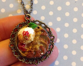Chicken Katsu Curry necklace