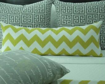 KRAVET -Bolster --Both Sides--Limitless Linden  Geometric-- Decorative PillowCover--Designer Fabric--