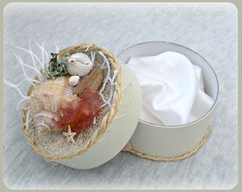 Seaside Gift Box - Perfect For Gift & Jewelry Presentation
