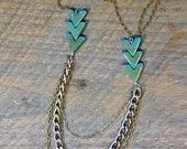 Arrow Necklace by Bark Decor- 1 left