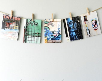 Stocking Stuffer Greeting Cards, Urban Notecard Set, Blank Cards with Envelopes Note Card Set,Urban Cards Set of Five,Philadelphia Notecards