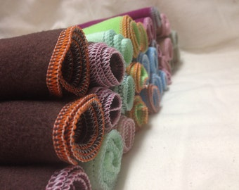 1 Dozen Stay-Dri MicroFleece Diaper Liners - Protect Baby and Your Diapers
