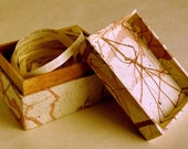 Love Letter Box, Hand Made Box with Quotes From Love Letters