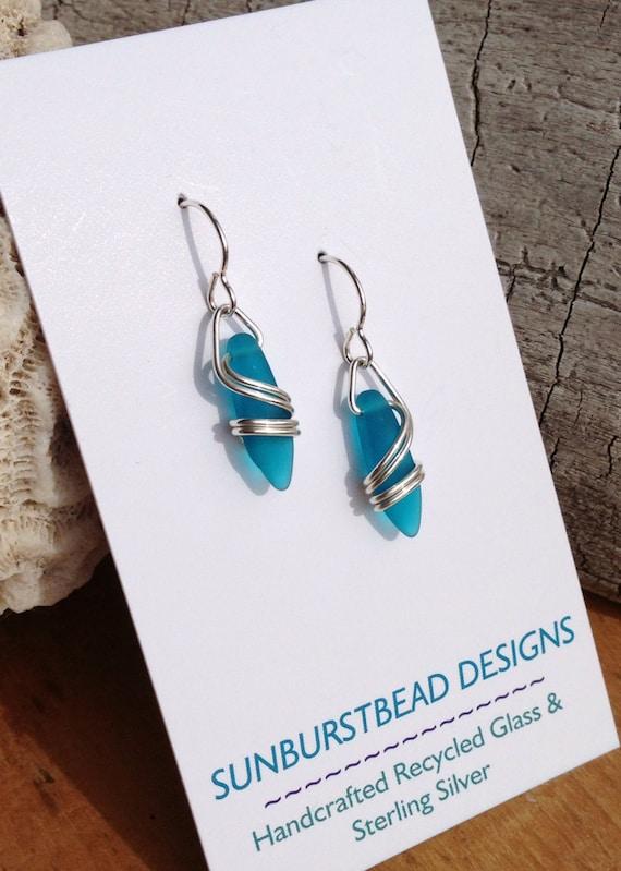 DEEP TEAL Right Coast Earrings