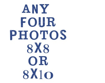 set of four  8x8 or 8x10 fine art photographs - shannonblue photography