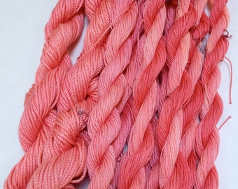 Sunset - Hand Dyed Tatting Thread in Size 10