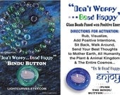 "6 ""Bead Happy"" Bindu Buttons"