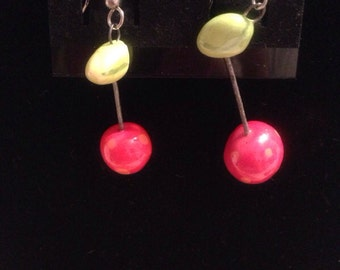 Bar bell earrings