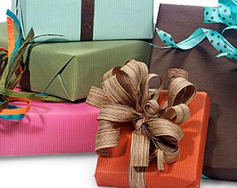 Gift Wrap, Add On, Ready to Gift, Gift Wrap your Order, Holiday Gifting, Birthday Gift, Personalized Gifting, Send Gift Directly