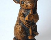 Church Mouse - Scottish Bagpiping - Mouse Ornament