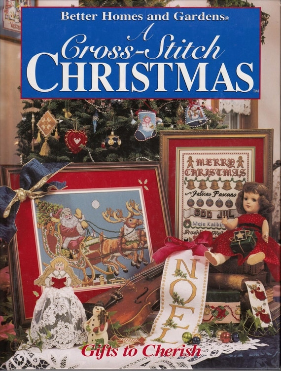 Better homes and gardens a cross stitch christmas gifts to Gifts for home builders