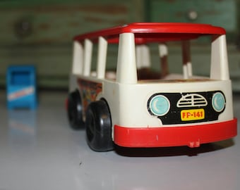 MINI-BUS ~ Fisher Price ~ Little People