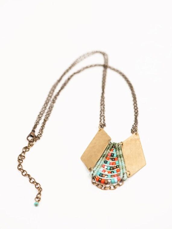 Mini Woven Princess Necklace
