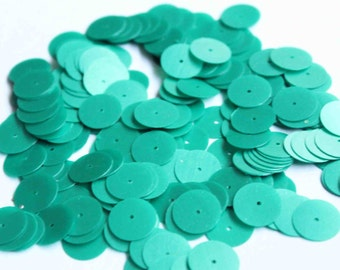 75 Matte Green Color/ Round sequins/KBRS140