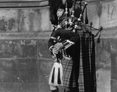 Photography - Bagpiper - Greeting Card (CLEARANCE)
