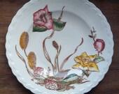 Vintage Harmony House Dessert Plate in Rosedale Pattern