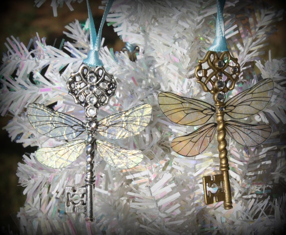 Flying Winged Key Themed Ornament
