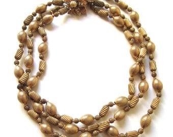 Hattie Carnegie Multi Strand Necklace
