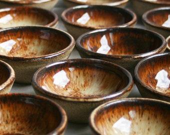 Prep Bowl, Small Ceramic Bowl, Rustic Kitchen Bowl, Handmade Stoneware Bowl - Entertaining or Hostess Gift Ready to ship Made in USA