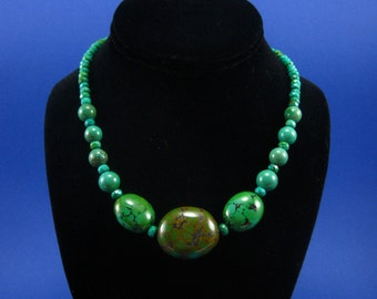 Green Turquoise Necklace