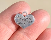 5  Silver Grand Daughter  Charms SC3261