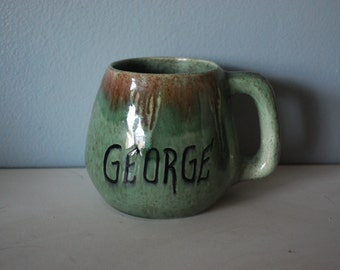 California Pottery George Mug