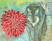 Dahlia Wolf - Dignity & Integrity - Fine Art Print