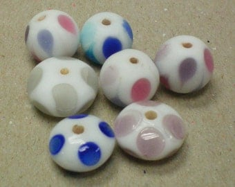 Colorful Spotted Glass