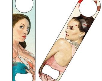 Slaughterhouse Starlets- Alison & Natalie - Bottle Opener
