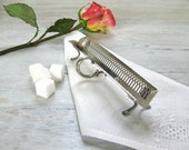 Sterling Silver Sugar Cube Caddy, Vintage Sugar Serving Tray by Webster,  Afternoon Tea Accessory, Edwardian Era Elegance