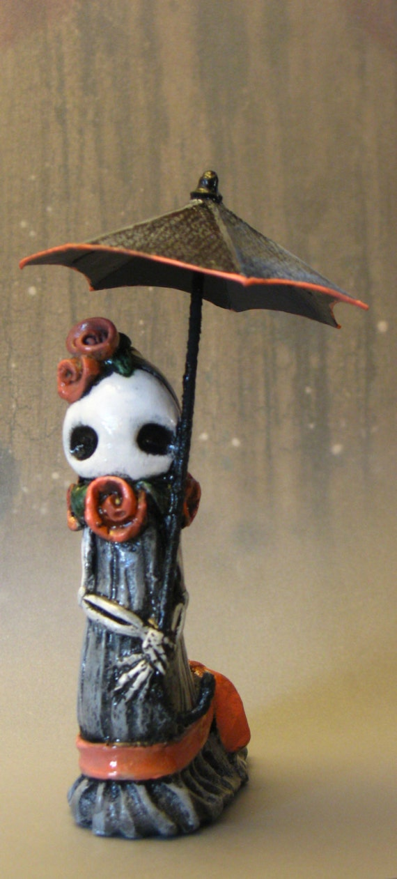 Day of the Dead - Stroll - Poppet by Lisa Snellings Limited Edition  #5/50