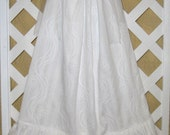 Girls 6/7 Special Occasion Party White Dress Boutique Pillowcase Dress