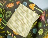 Forest Garden Car Seat Blanket (Car Seat Canopy with Elastic)