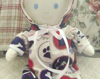 Baby Doll - Baby's First Baby- Handmade Cloth Doll