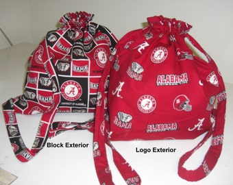 Alabama Crimson Tide Football Drawstring Backpack