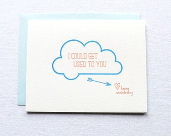 I Could Get Used To You Card