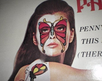 Vintage Butterfly Tattoo Face and Body Paul Mauriat and his Orchestra album