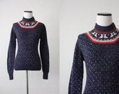 vintage lodge sweater