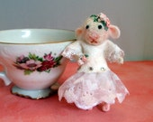 Miniature Felted Mouse