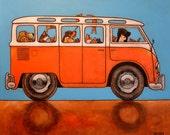 "197 VW Samba pack – print 21x21cm/8.5x8.5"""