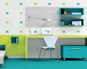 Skull and Crossbones Removable Wall Decals Mini Pack